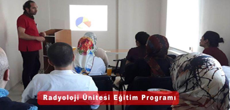 Radyoloji Ünitesi Eğitim programı